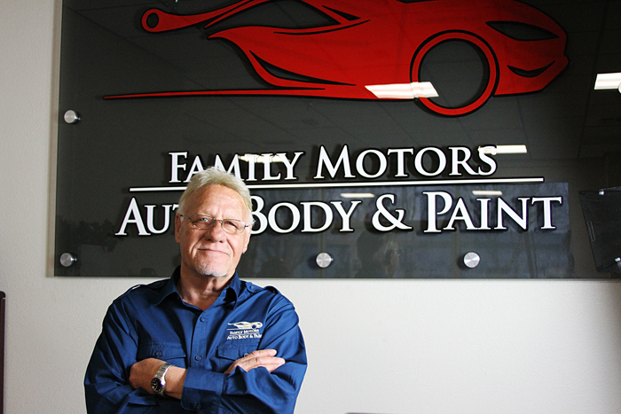 Our team family motors auto body paint for Family motors auto repair