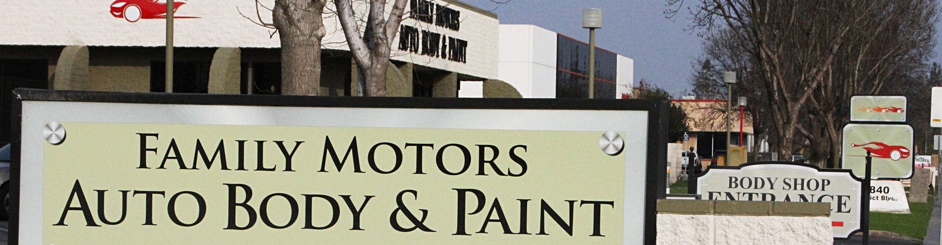 Family Motors Auto Body Paint